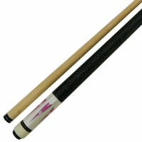 "58 "" Pink White 2 Pce Hardwood Maple Pool Cue Billiard Stick 21 Oz W Steel Joint"