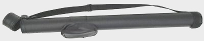 Case of 10 - Black 1 X 1 Hard Pool Cue Stick Case