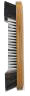"Case of 10 - 10 1/2"" Pool Table Billiard Horsehair Brush Oak Finish"