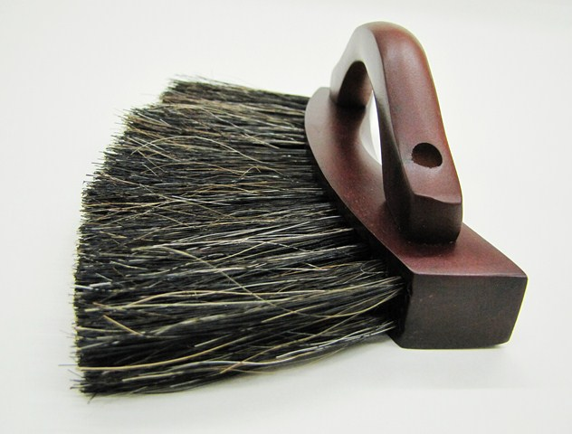 Pool Table Billiard Horsehair Under Rail Brush Mahogany Finish