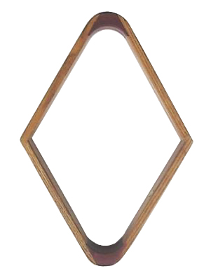 Maple Wood  9  Ball Pool Table Rack Oak Finish
