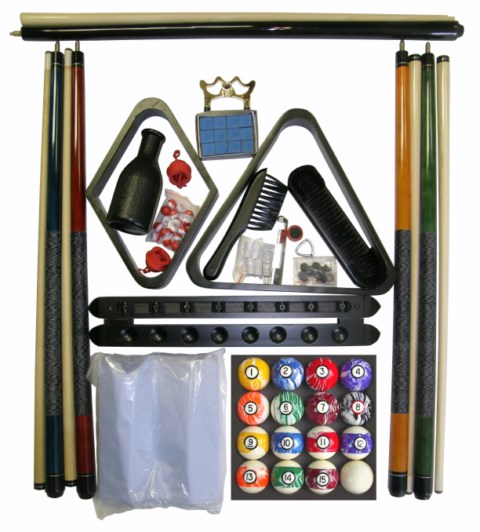 Accessory Kit W/ Marble Style Balls Black Finish