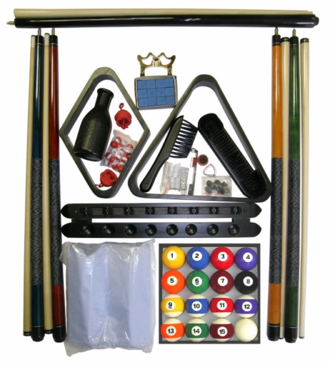 Accessory Kit W/ Traditional Style Balls Black Finish