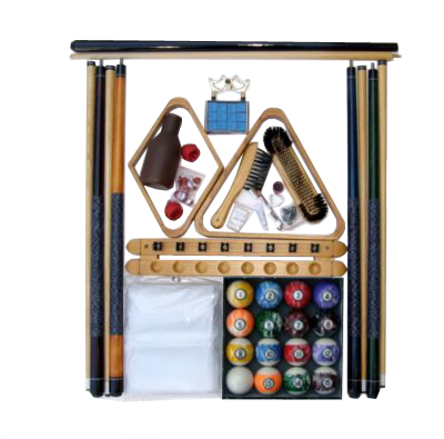 Accessory Kit W/ Marble Style Balls Oak Finish