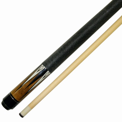 Attractive Short Maple 42 Inch 2 Pce Hardwood Canadian Maple Pool Cue Billiard Table  Stick 17 OZ