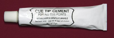 Pool Cue Tip Repair Glue 20 grams