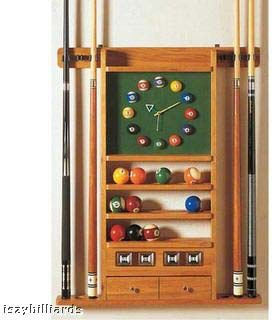 Pool Balls and Cue - Billiard Equipment
