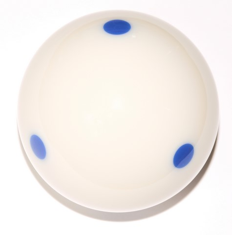 Blue 6 Dot - Spot  Pool - Billiard Practice Training Cue Ball