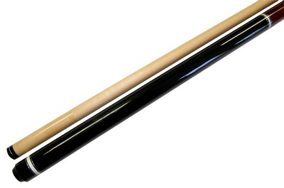 "Lot of 10 - 58"" - 2 Piece Break Pool Cue - Billiard Stick Hardwood Canadian Maple 23 Ounce Red"