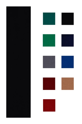 Accuplay 20 oz Pre Cut For 8' Table Pool Felt - Billiard Cloth Black