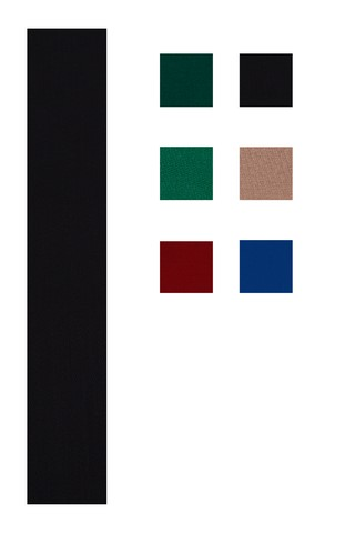Accuplay Pre Cut Worsted Pool Felt - Billiard Cloth Black For 8' Table