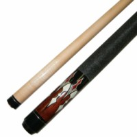 "Short 42"" 2 Pce Hardwood Canadian Maple Pool Cue Billiard Stick 17 Oz"