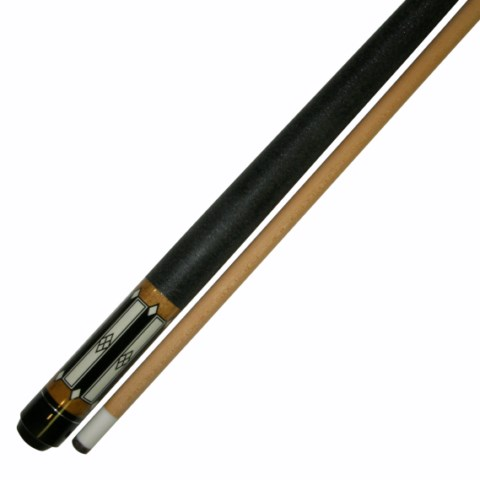 "58""  2 Piece Hardwood Canadian Maple Pool Cue Billiard Stick  W Irish Wrap 18 Oz"