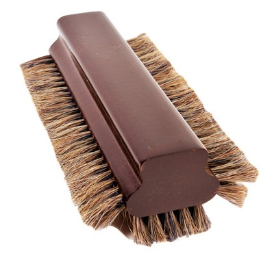 "8 1/2"" Pool Table Billiard 100 % Horsehair Brush Mahogany Finish"