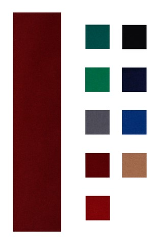 Accuplay 20 oz Pre Cut For 7' Table  Pool Felt - Billiard Cloth Burgundy