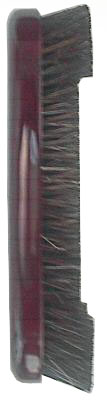 "Case of 10 - 10 1/2"" Pool Table Billiard Horsehair Brush Mahogany Finish"