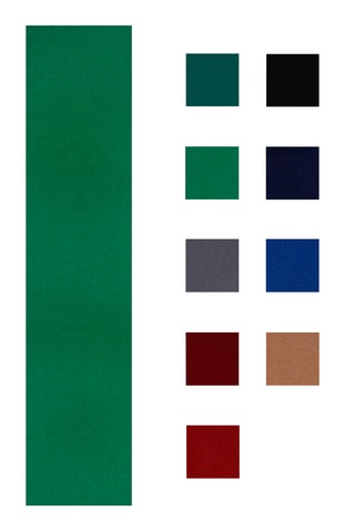 Accuplay 20 oz Pre Cut For 8' Table  Pool Felt - Billiard Cloth English Green