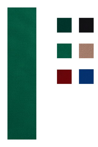 Accuplay Pre Cut Worsted Pool Felt - Billiard Cloth English Green For 8' Table
