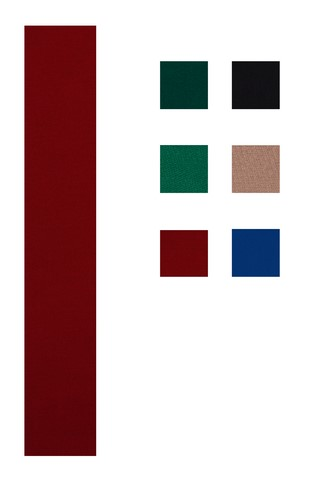 Accuplay Pre Cut Worsted Pool Felt - Billiard Cloth Burgundy For 8' Table